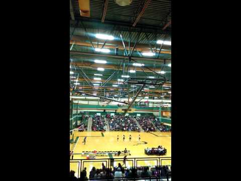 Tuba City high school Cheerleader dance