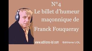 Main droite, main gauche et chaîne d'union - Billet d'humeur maçonnique N°4  - Par Franck Fouqueray