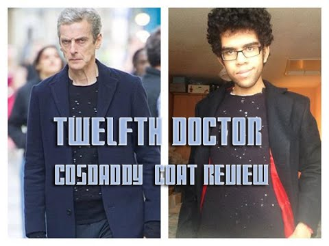 12th Doctor Cosplay Part Review: The Cosdaddy Coat