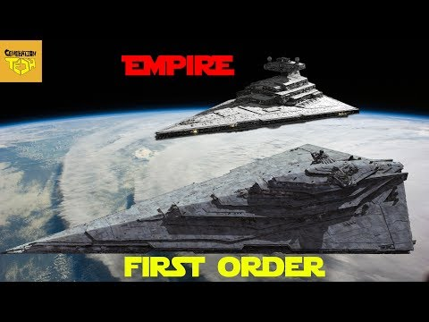 How the First Order IMPROVED Imperial Ship Designs