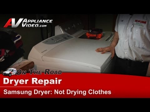 Fisher & Paykel Dryer Repair & Diagnostic,Not Heating & Not Drying Clothes