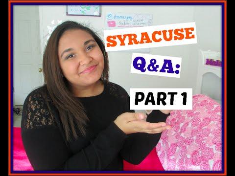 SYRACUSE Q&A   PART 1