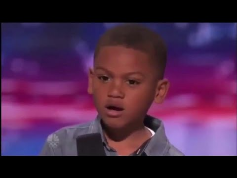 "7 Year Old Kid Raps ""Get Schwifty"" On AGT (emotional)"