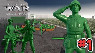 Epic Toy Line Defence! - Army Men of War - Episode One : the Gap in the Fence