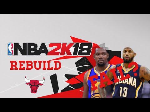 PAUL GEORGE AND KD?!?!? CHICAGO BULLS NBA 2K18 REBUILD!!