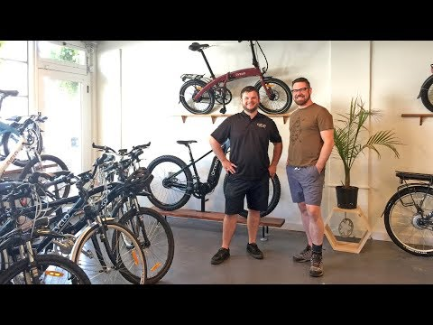 EVELO Electric Bikes - Headquarters, E-Bike Showroom, Shop Visit