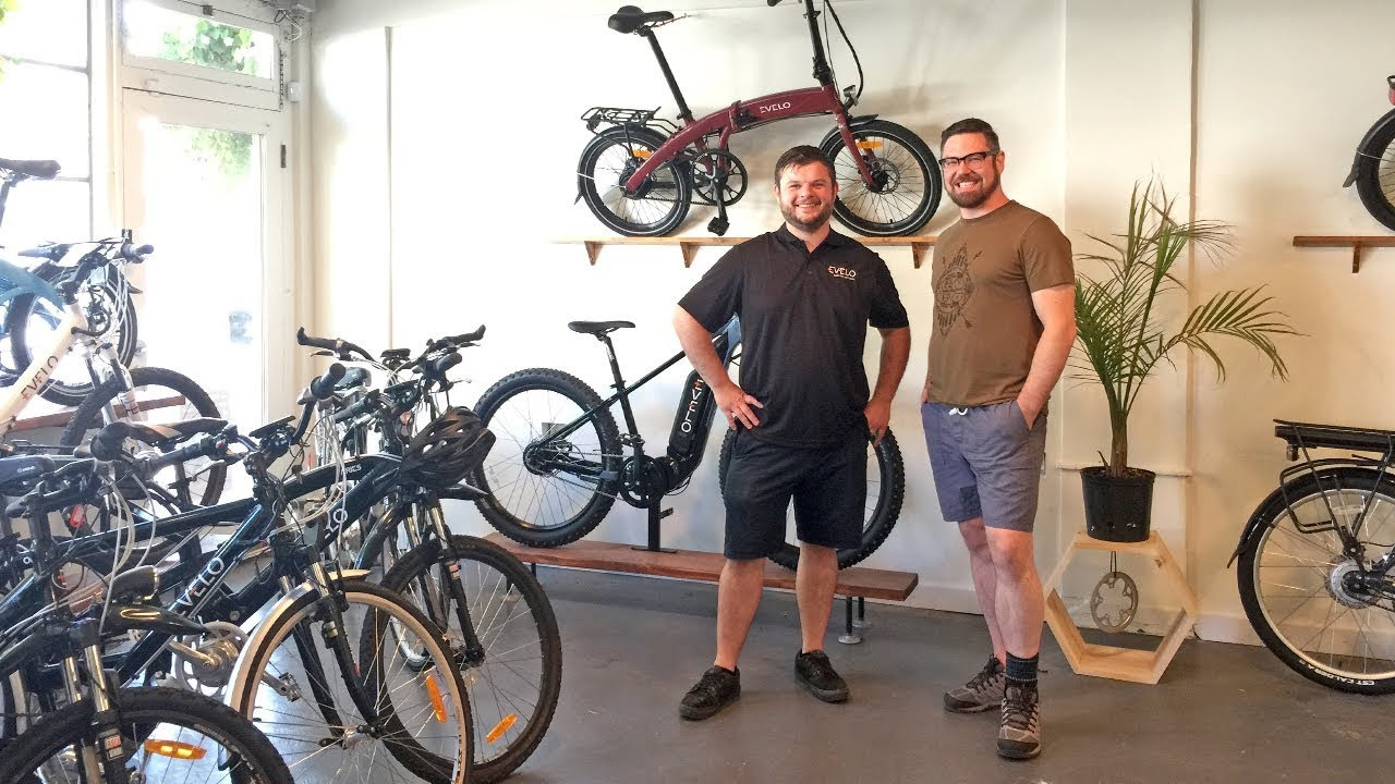 Evelo Electric Bikes Headquarters E Bike Showroom Shop Visit Youtube