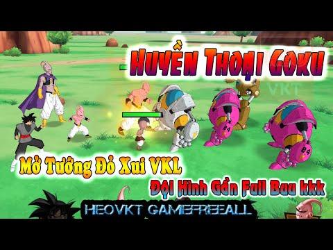 GAME 135: Huyền Thoại Goku (IOS,Android,PC) | Mở Tướng Đỏ – Số Vẫn Nhọ VKT [HEOVKT]