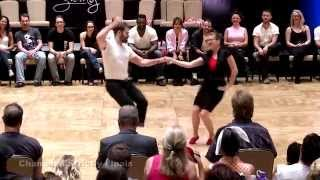 Ben Morris & Melissa Rutz - Desert City Swing 2015 Champions Strictly Swing 2nd Place