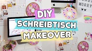DIY Schreibtisch Makeover ◆ 4 einfache Pinterest Deko Ideen selber machen!