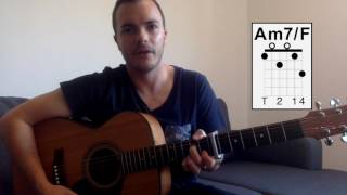 When You Love Someone by James TW - Guitar Lesson (Tutorial) Fingerpicking