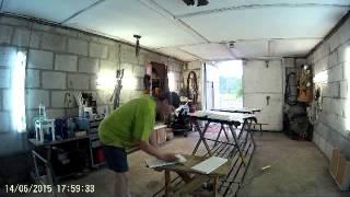 Покраска фасадов кухни Часть 1(, 2015-06-24T05:25:51.000Z)
