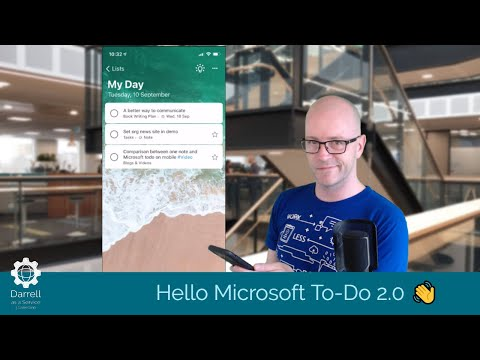 Hello Microsoft To-Do 2.0. Check out the new update with me thumbnail