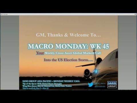 US election: Macro Monday webinar – #SaxoStrats