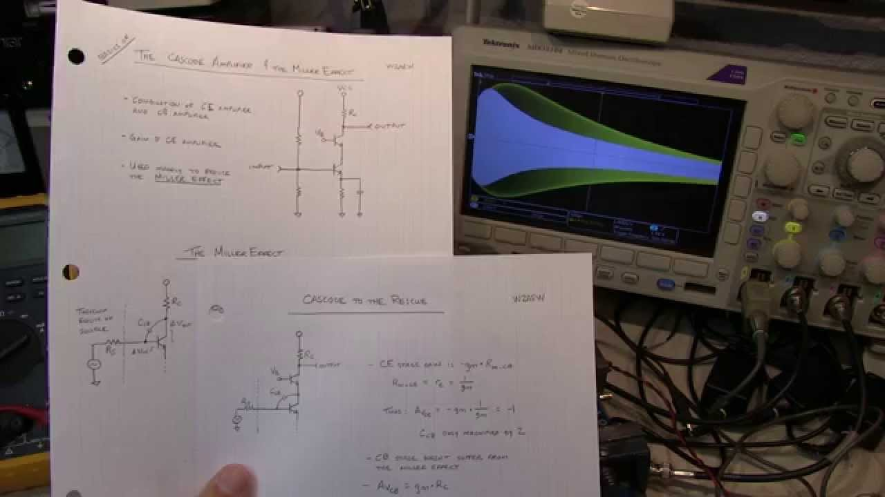 207 Basics Of A Cascode Amplifier And The Miller Effect Youtube Radio Frequency Jfet Mixer Rf Circuit Amplifiercircuit
