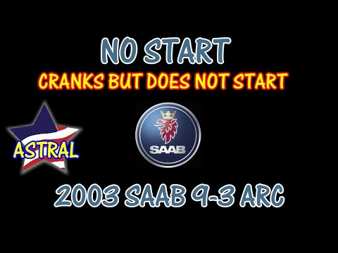 ⭐ 2003 Saab 9-3 Arc - Cranks But Does Not Start - YouTube