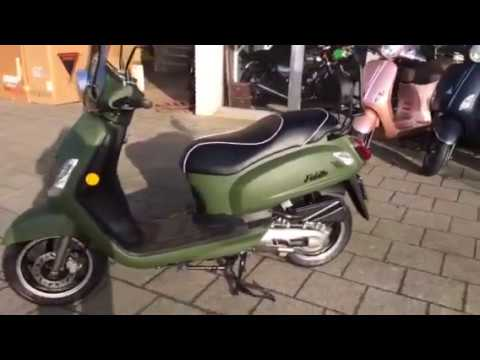 Uitgelezene Sym Fiddle 2 4takt Army Green mat groen (6031) - YouTube KX-33