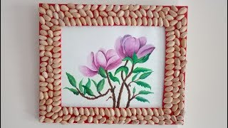 How to Make Photo Frame at Home | DIY | Pista Craft Work Video