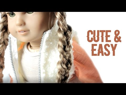 CUTE & EASY DOLL HAIRSTYLES FOR SPRING