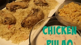 Chicken Yakhni Pulao/pilaf (rice Cooked In Chicken Broth)