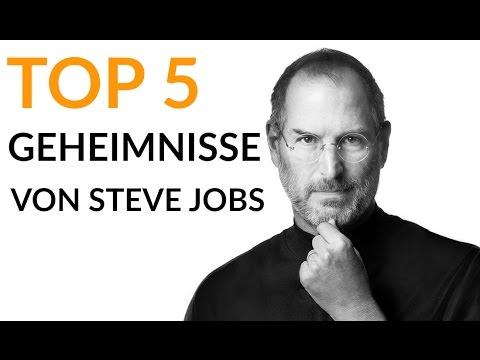 Top 5 Erfolgsgeheimnisse von Steve Jobs