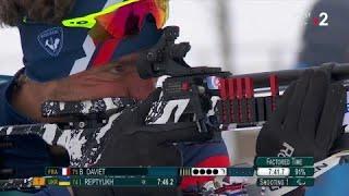 Jeux Paralympiques - Biathlon 15 km hommes - Benjamin Daviet en argent !