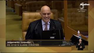 STF tem garantido liberdade religiosa, afirma Moraes
