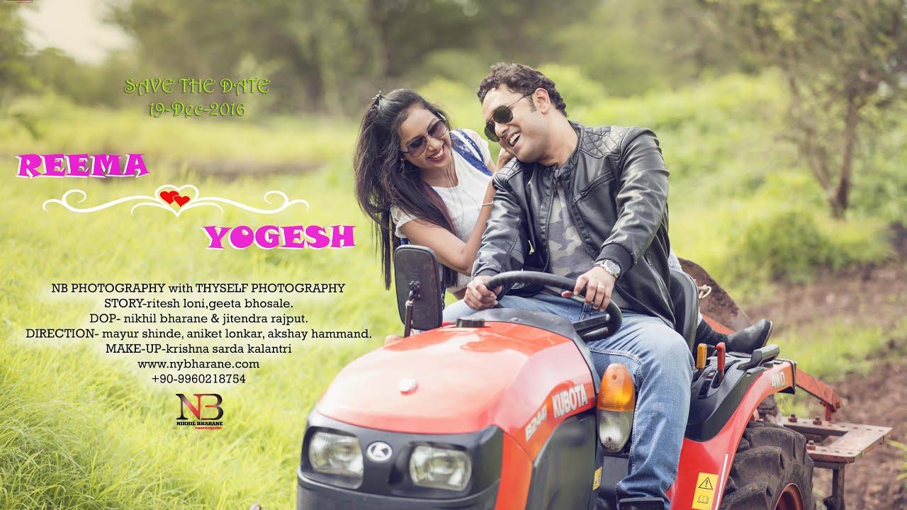 Yogesh Reema Love Story 2016 Best Pre Wedding Video Shoot
