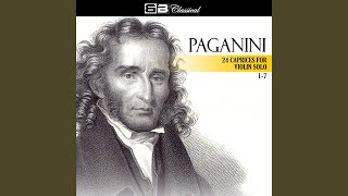Caprice in E Minor, Op. 1, No. 3: Sostenuto