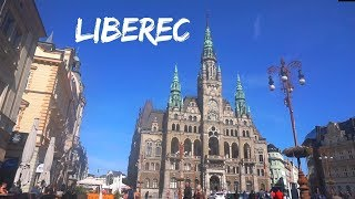 CZECH REPUBLIC , LIBEREC (A WALKING TRAVEL TOUR) : THIS CITY IS WONDERFUL!