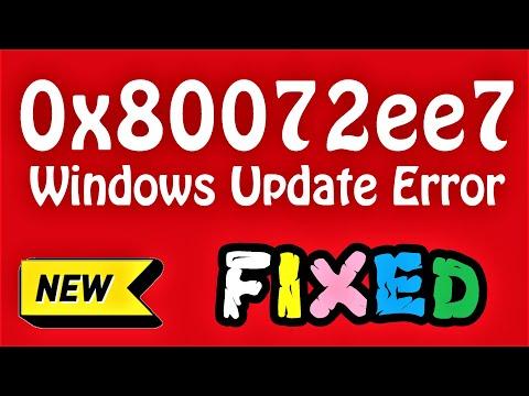 0x80072ee7 Windows 10 Update Error Fix (English) How To Fix 0x80072ee7 Error In Windows 10 \ 8 \ 7