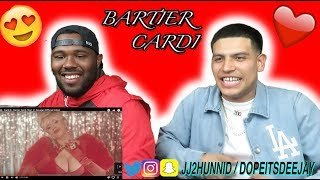 Cardi B - Bartier Cardi (feat. 21 Savage) [Official Video] (Reaction)