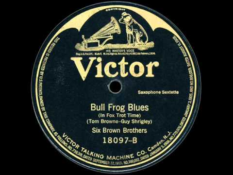 Six Brown Brothers: Bull Frog Blues (1916)