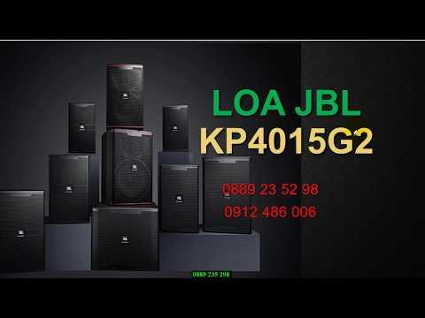 Loa karaoke JBL KP4010G2 chính hãng 1