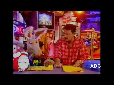 CBBC1 Toby Anstis & Otis the Aardvark 11th April 1995