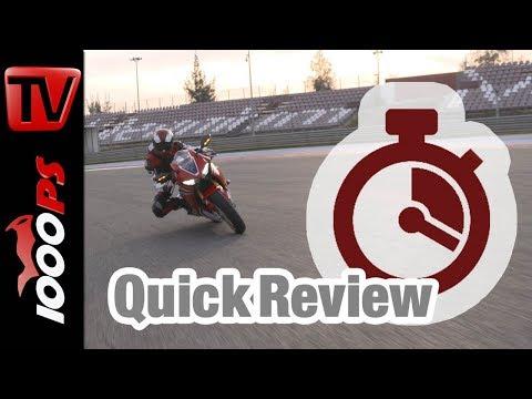 Quick Review: Honda CBR1000RR Fireblade 2017 - english