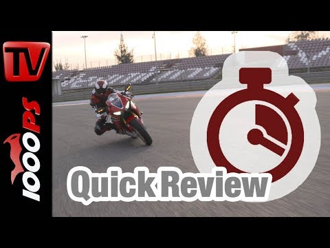 Quick Review: Honda CBR1000RR Fireblade 2017 - english