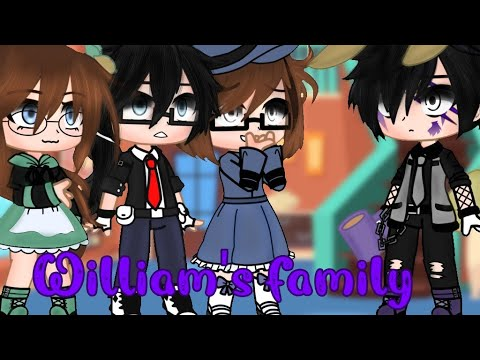 Download Afton family meets William's family gacha club fnaf {My Au} |18k special|