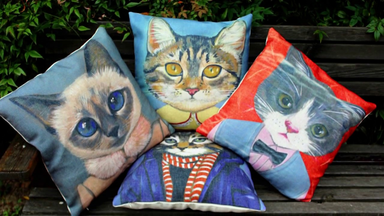 Creative pillow ideas decorating with pillows youtube Pillow design ideas