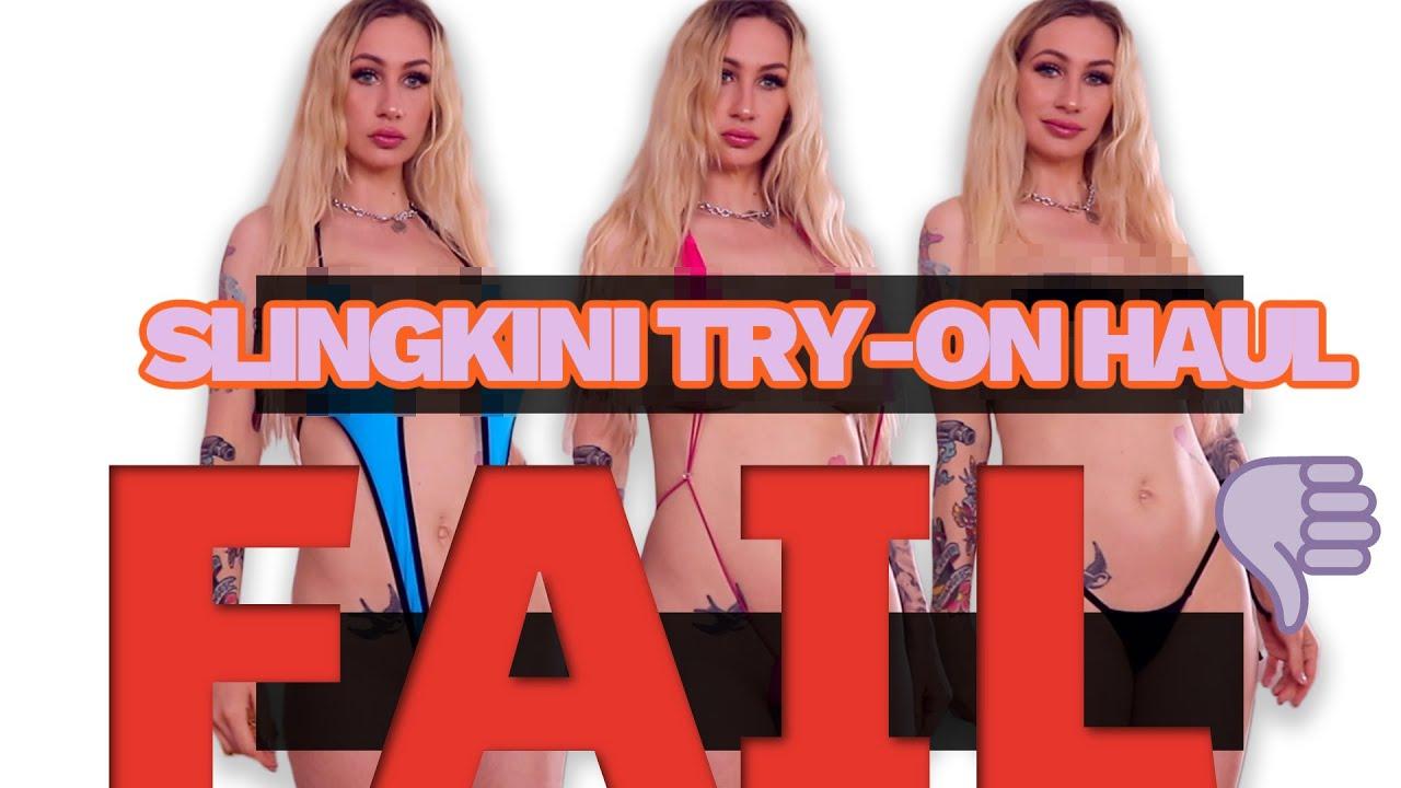 Download Micro Sling-Bikini/Mono Bikini Try-on Haul FAIL Plus White Gurl Twerk Tips from a White Gurl