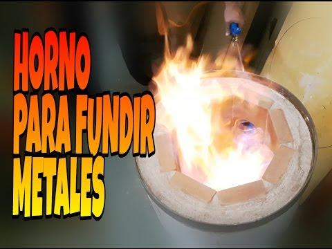 Horno para fundir metales | Parte 1 |
