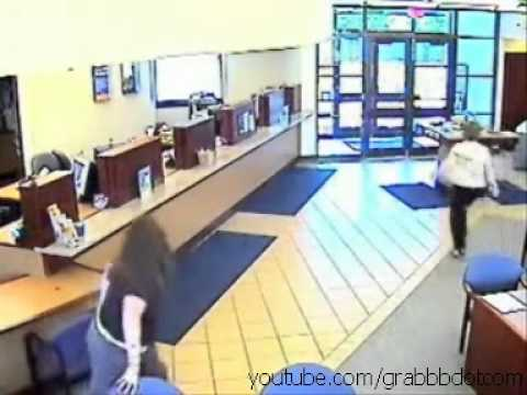 Old man bank robbery