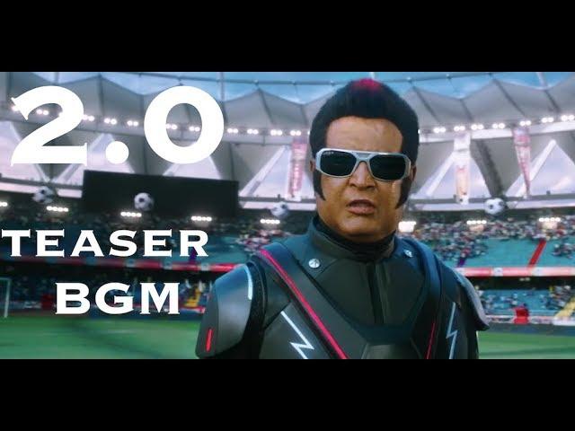 2.0 Teaser BGM | Rajinikanth, Akshay Kumar | A. R. Rahman | Shankar