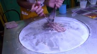 Une glace en thailande