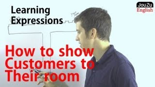How to Show Customers to Their Room | English for Hotel Staff|Learning Expressions