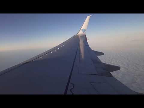 Мирный - Новосибирск на Boeing 737-800 Алроса