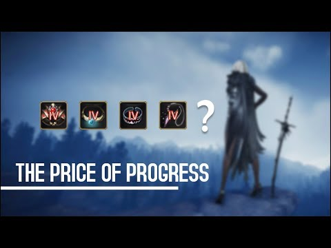 Black Desert Online - Progression Past Soft Cap | High End Accessories Enhancement