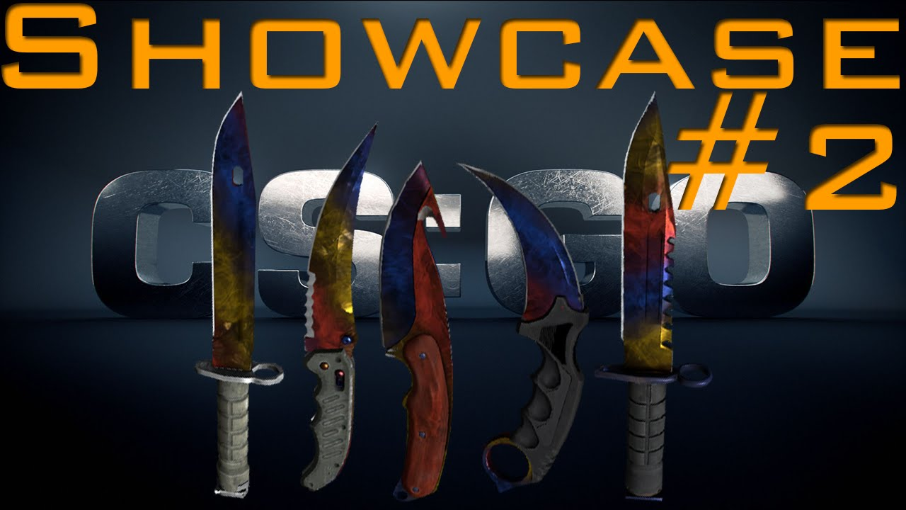CS:GO All Marble Fade Knives Review/Showcase + Animations #2 Old