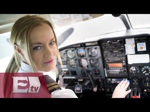 Primer vuelo transpacífico México-China piloteado únicamente por mujeres/ Global