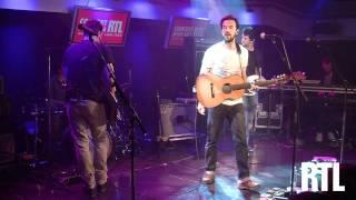 Gerald De Palmas - Au bord de l'eau en live dans le Grand Studio RTL